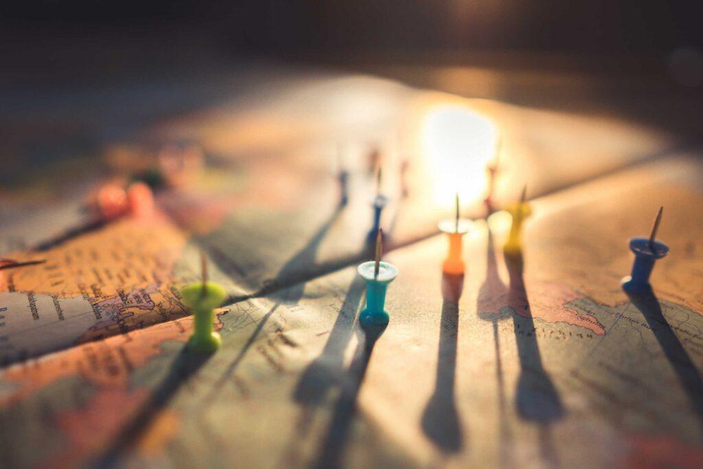 Op reis routekaart waar sta je?