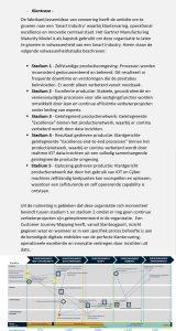 Gartner Manufacturing Maturity Model klantcase
