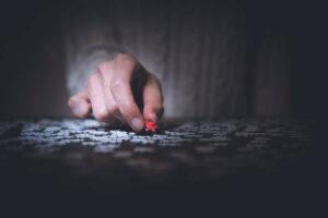 Portfoliomanagement puzzelen categoriseren