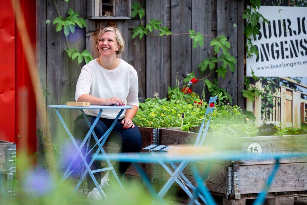 Mobilee'er Anne Wever creatieve oplosser en strikjeslegger